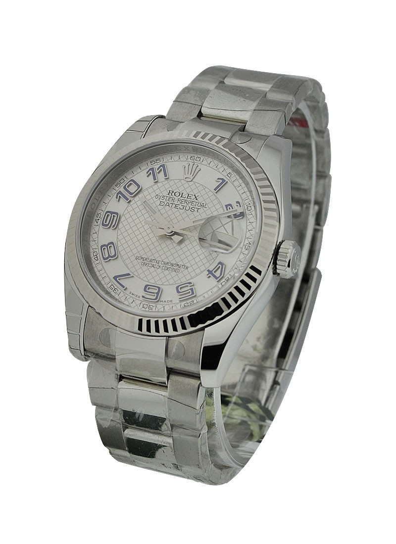 Rolex Unworn Datejust 36mm in Steel with Oyster Bracelet