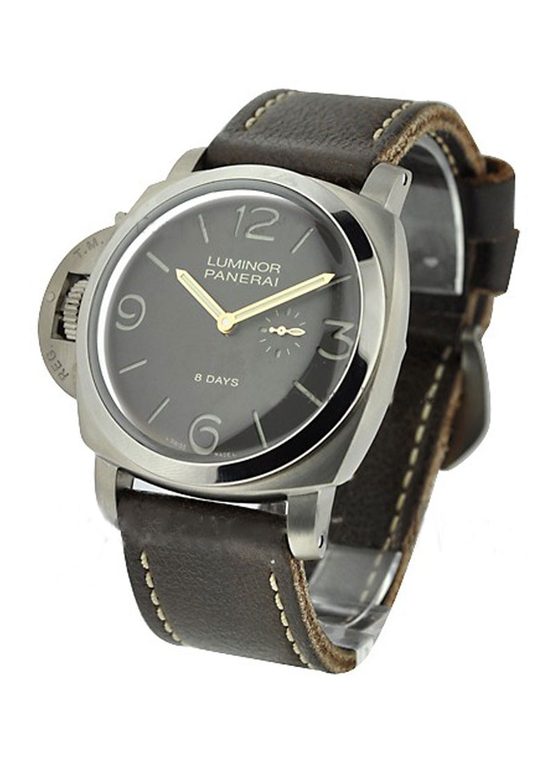 Panerai PAM 368 - Luminor 1950 Left-handed 8 Days in Titanium