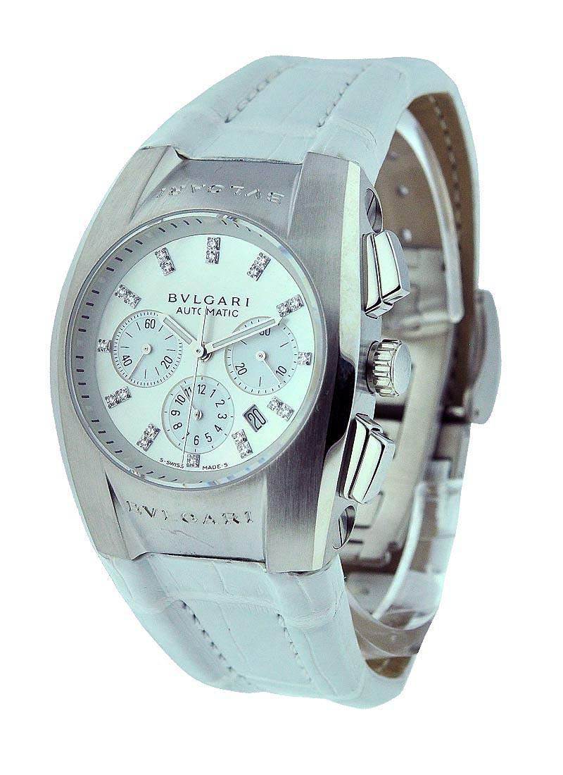 Bvlgari Ergon Chronograph Mid Size in Steel