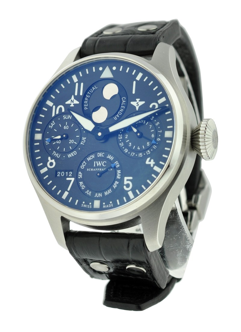 IWC Big Pilot Perpetual Middle East 46.2mm Automatic in Stainless Steel