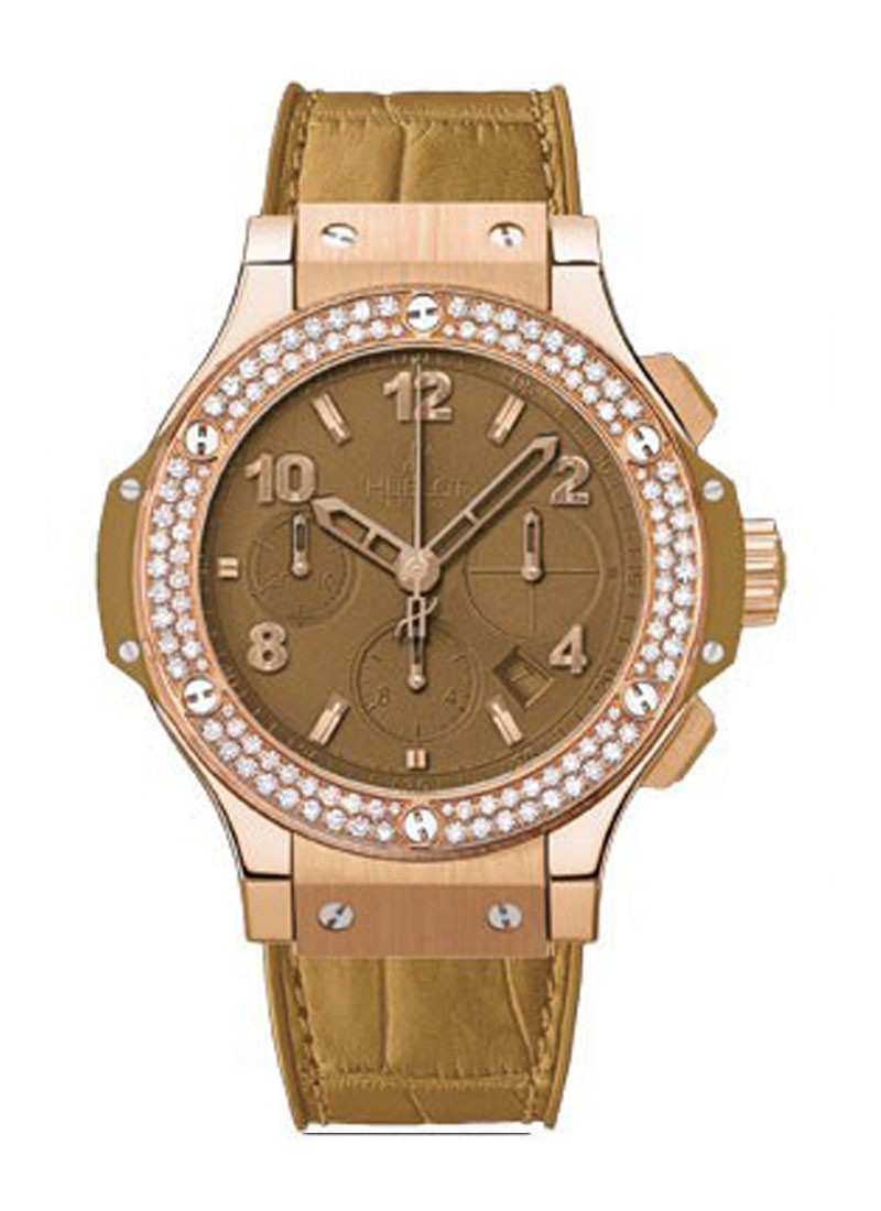 Hublot Big Bang Tutti Frutti Camel 41mm in Rose Gold with Diaamond Bezel