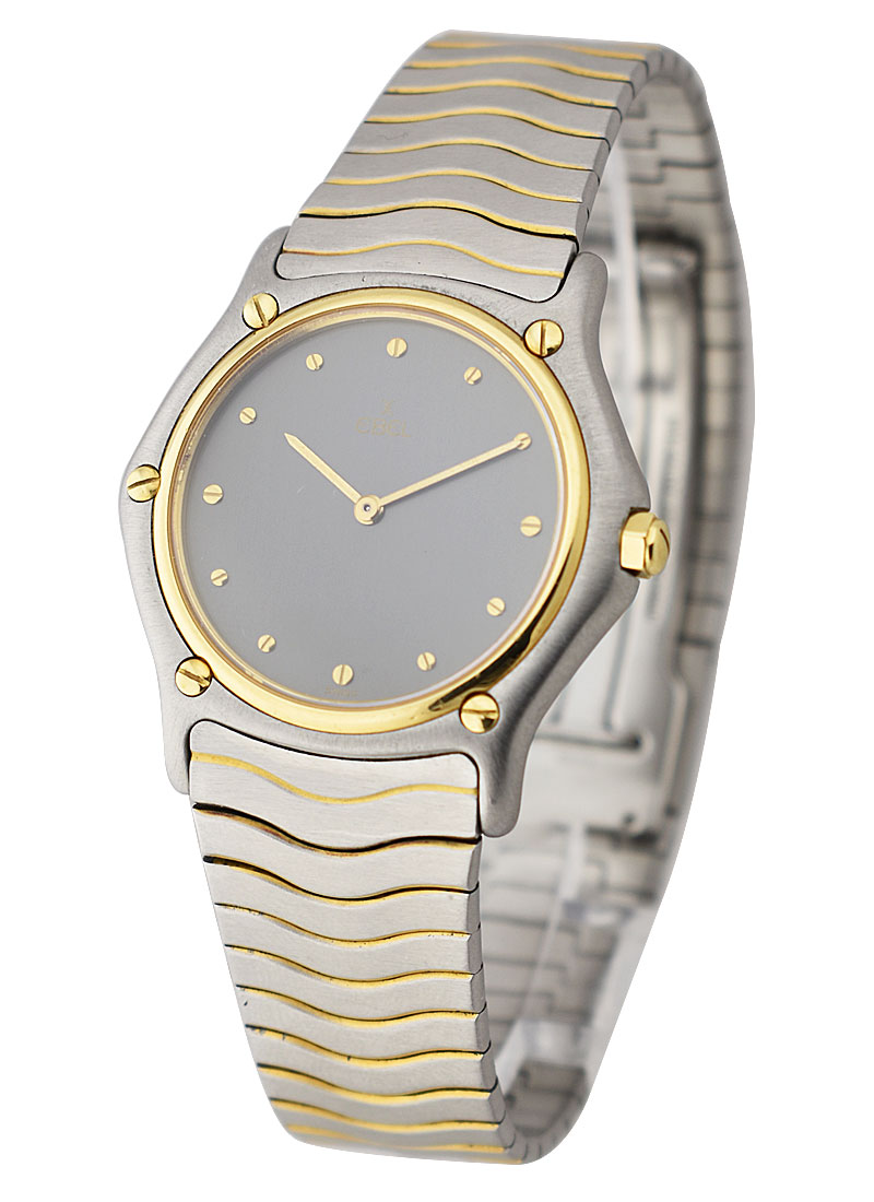 Ebel Classic Wave Ladies' 2-Tone in Steel and Yellow Gold Bezel