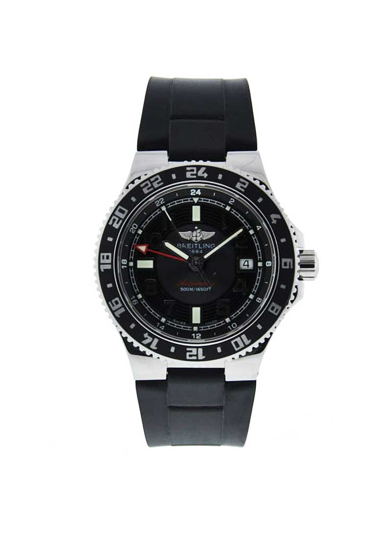 Breitling Superocean GMT Men's Automatic in Steel