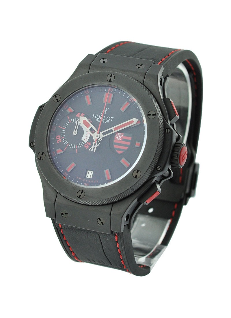 Hublot Big Bang Flamengo in Black Ceramic - Limited Edition of 250pcs