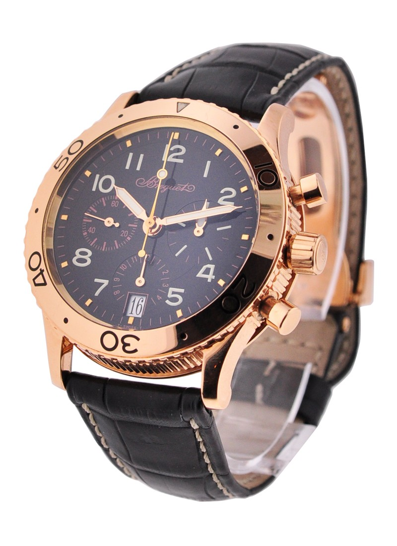 Breguet Type XX Transatlatique in Rose Gold