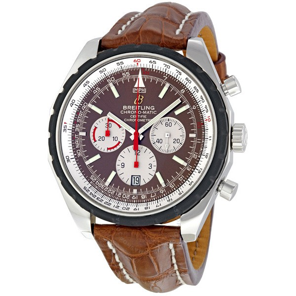 Breitling Navitimer Chronograph in Steel with Rubber Bezel