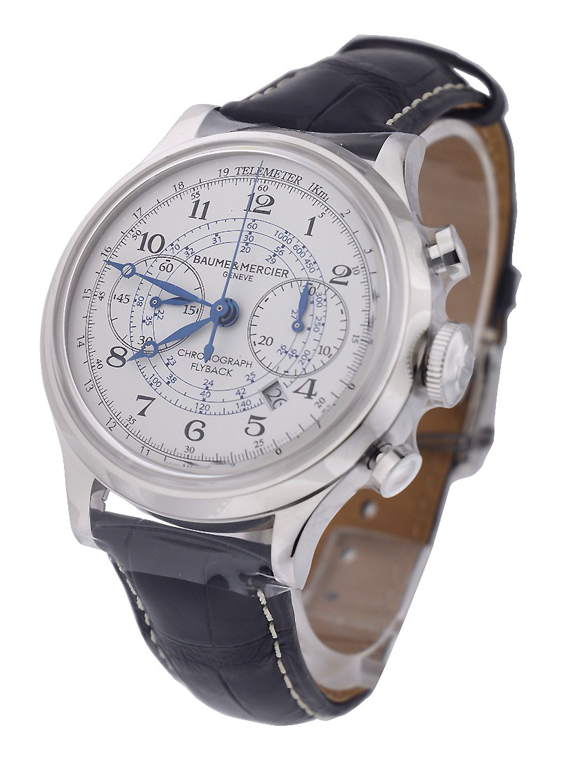 Baume & Mercier Capeland Flyback Chronograph in Stainless Steel