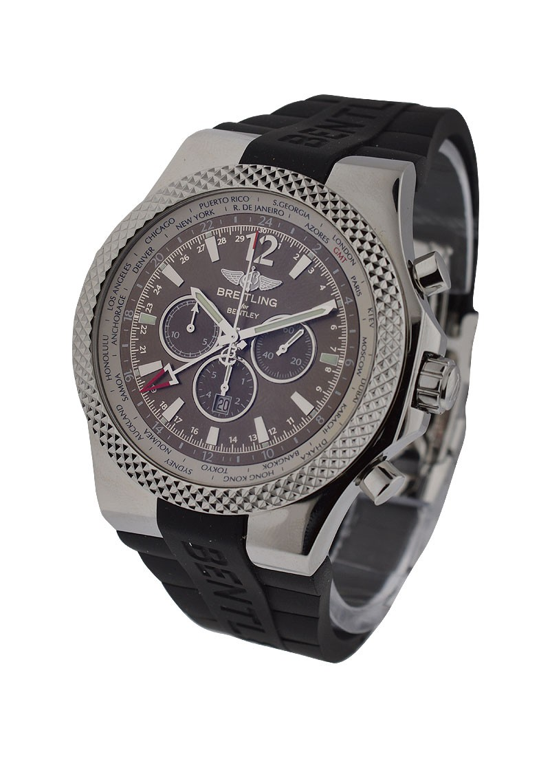 Breitling Bentley GMT Chronograph in Steel