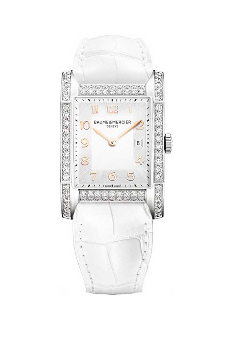 Baume & Mercier Hampton Classic with Steel with Diamond Bezel