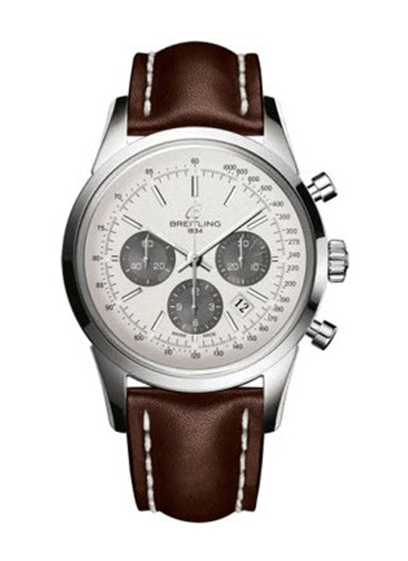 Breitling Transocean Chronomatic Men''''''''s in Steel