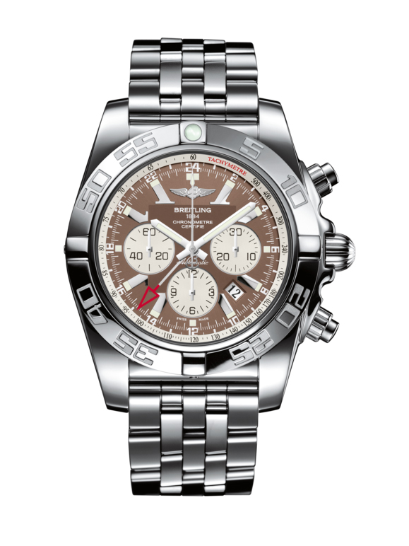Breitling Chronomat GMT Chronograph in Steel