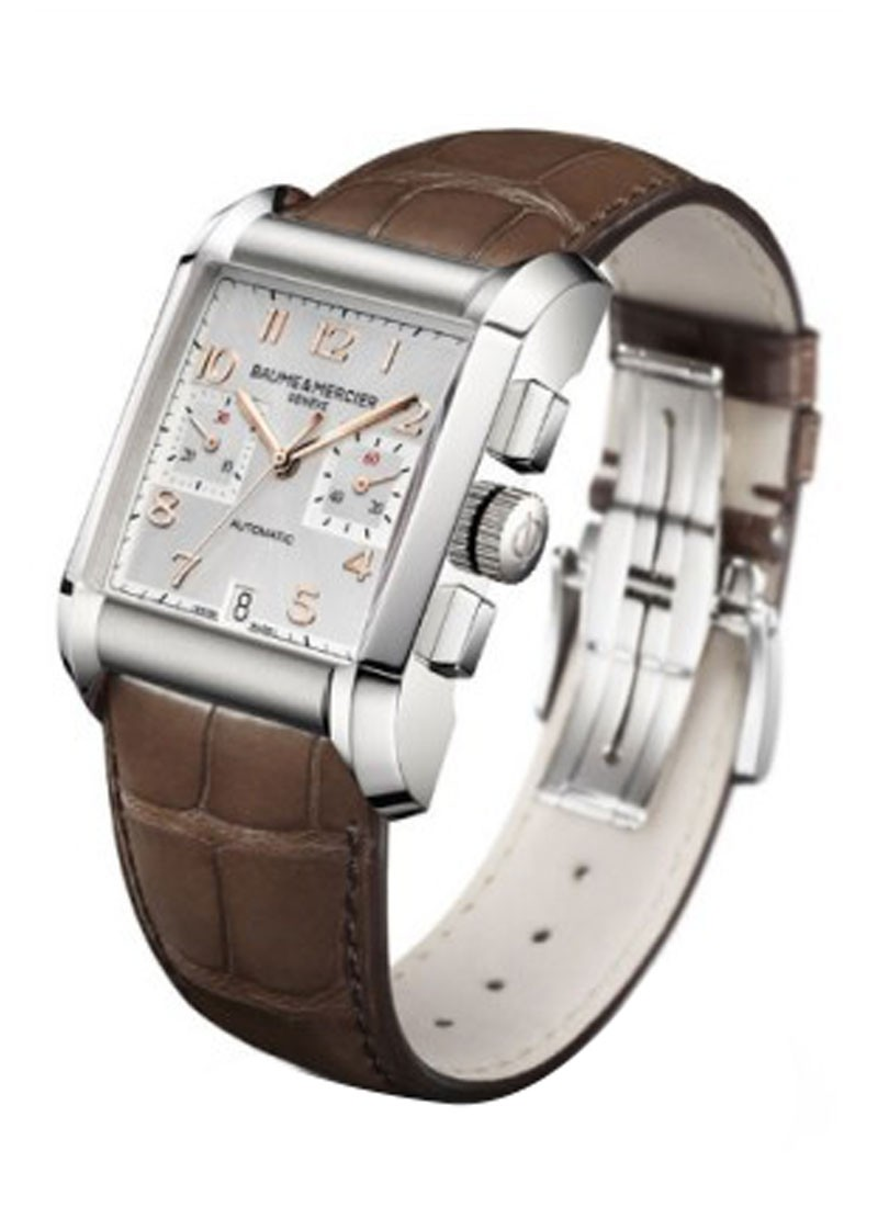 Baume & Mercier Hampton Classic Chronograph in Steel