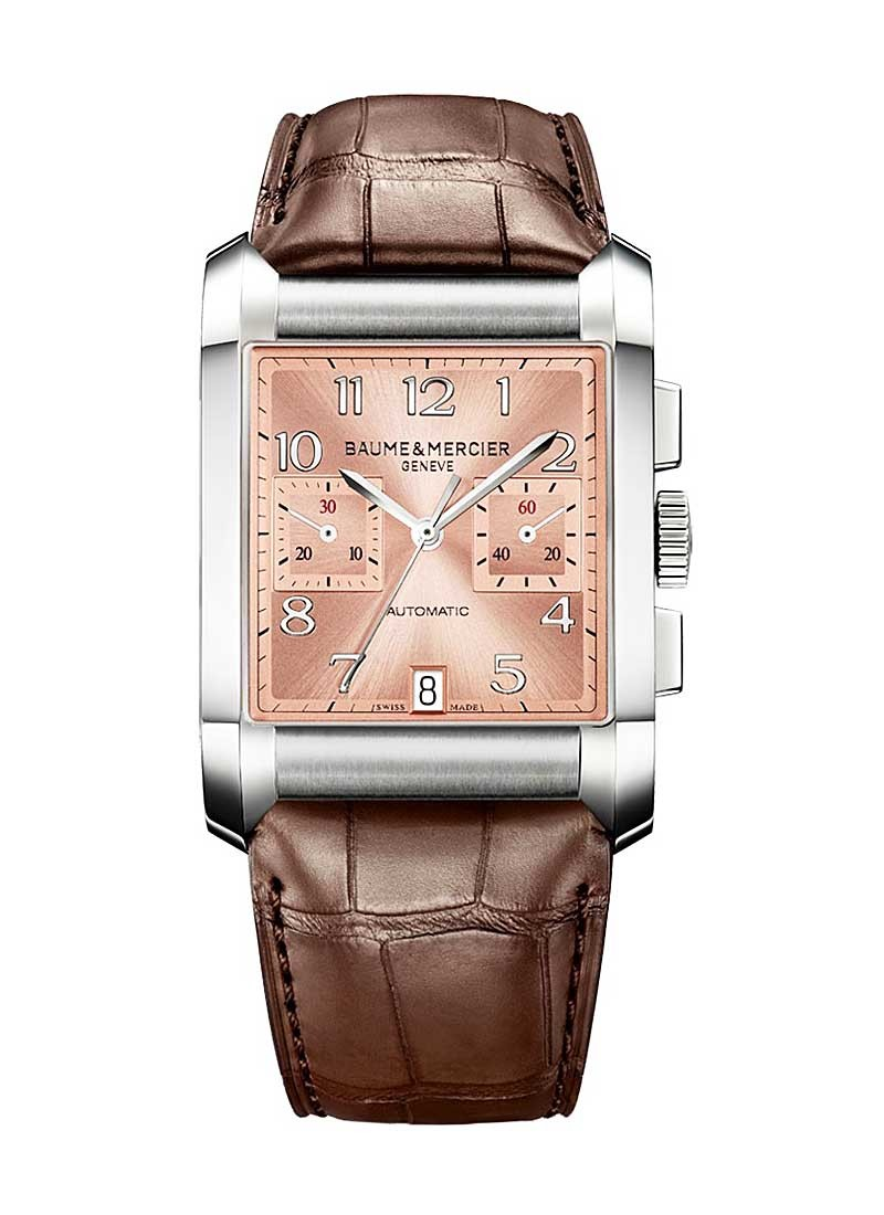 Baume & Mercier Hampton Classic Chronograph  in Stainless Stee