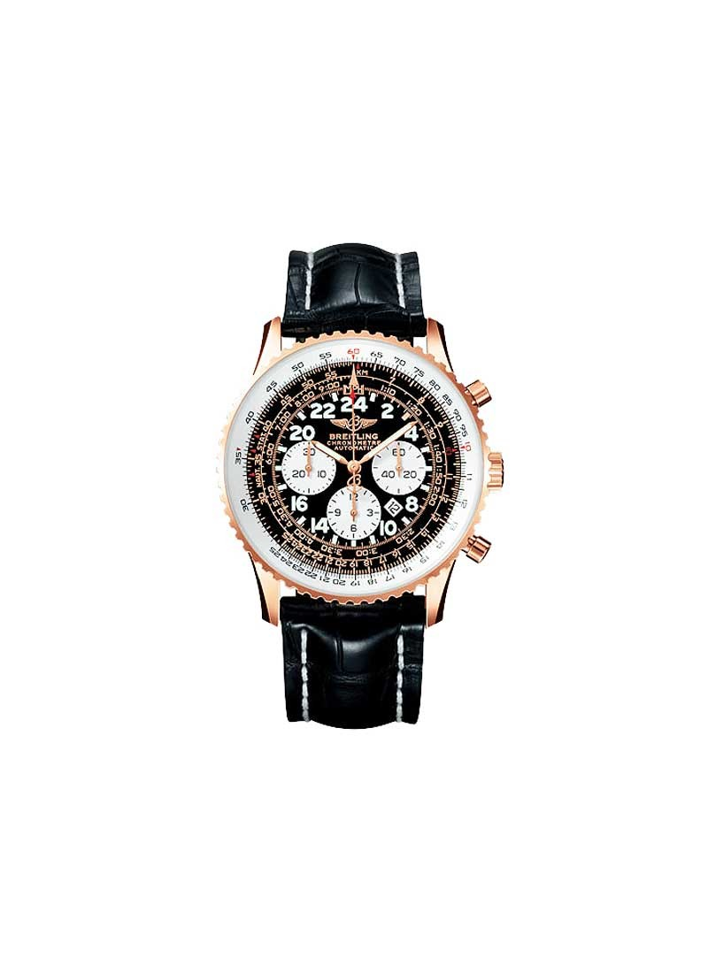 Breitling Navitimer Cosmonaute Chronograph in Rose gold