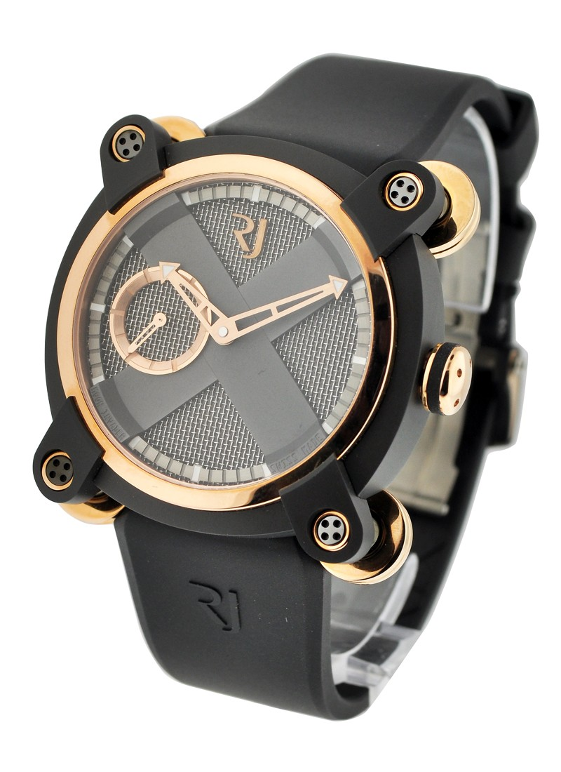 Romain Jerome Moon Invader Eminence Grise 46mm in Rose Gold and Dark Grey PVD-Coated Steel