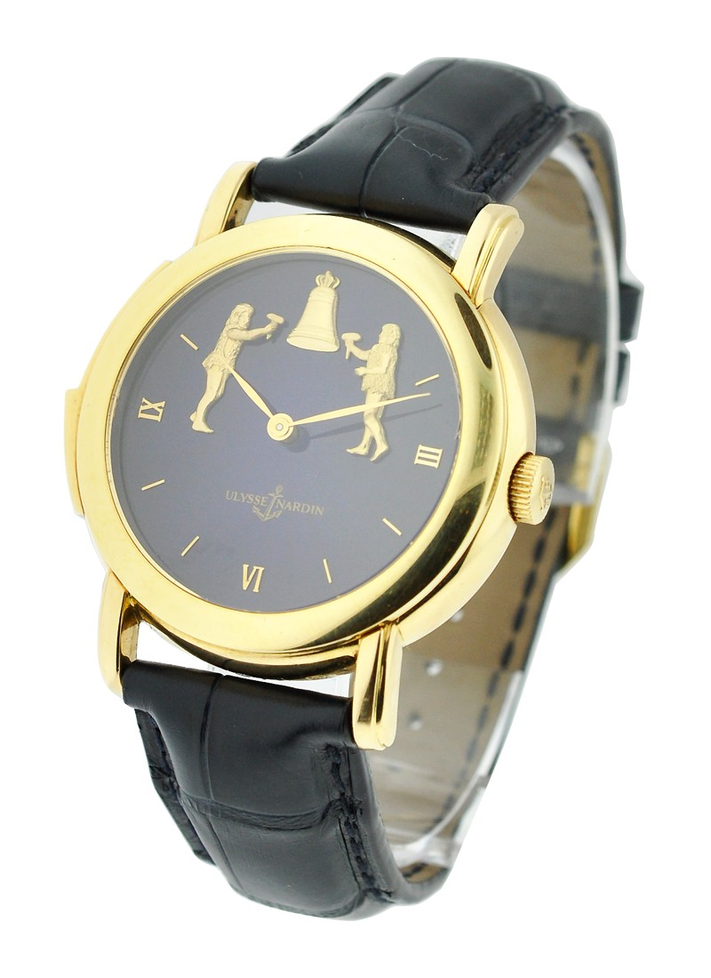 Ulysse Nardin Forgerons Minute Repeater  - Yellow Gold