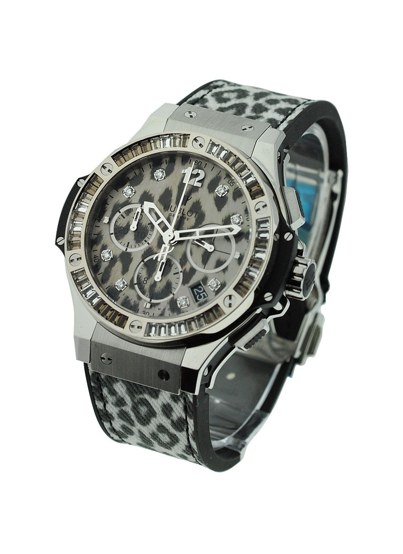 Hublot Big Bang 41mm Steel Snow Leopard