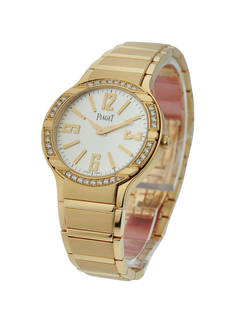 Piaget Lady's Polo with Diamond Bezel