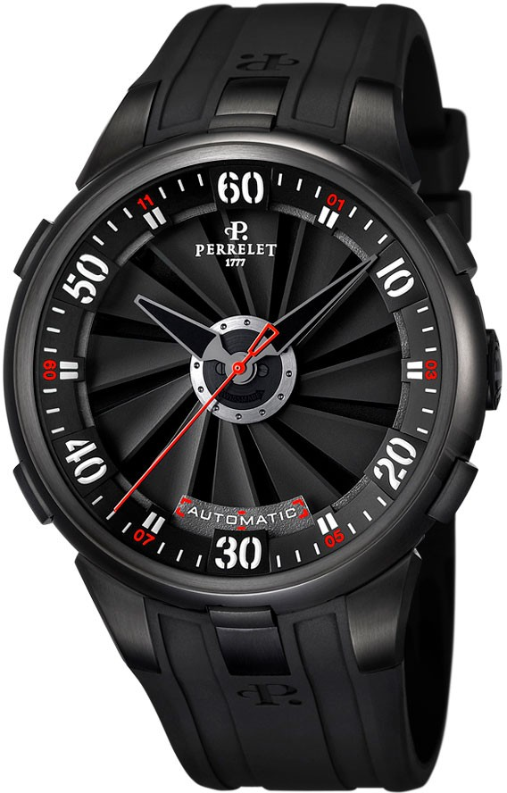 Perrelet Turbine Large Size   Black DLC Case