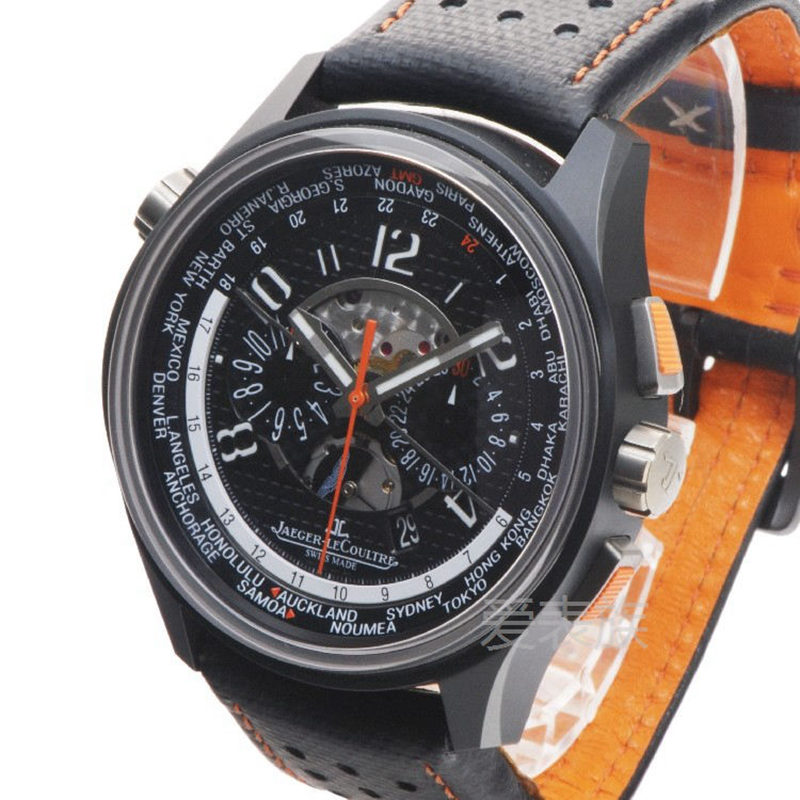 Jaeger - LeCoultre Aston Martin AMVOX5 World Chronograph in Ceramic with Titanium