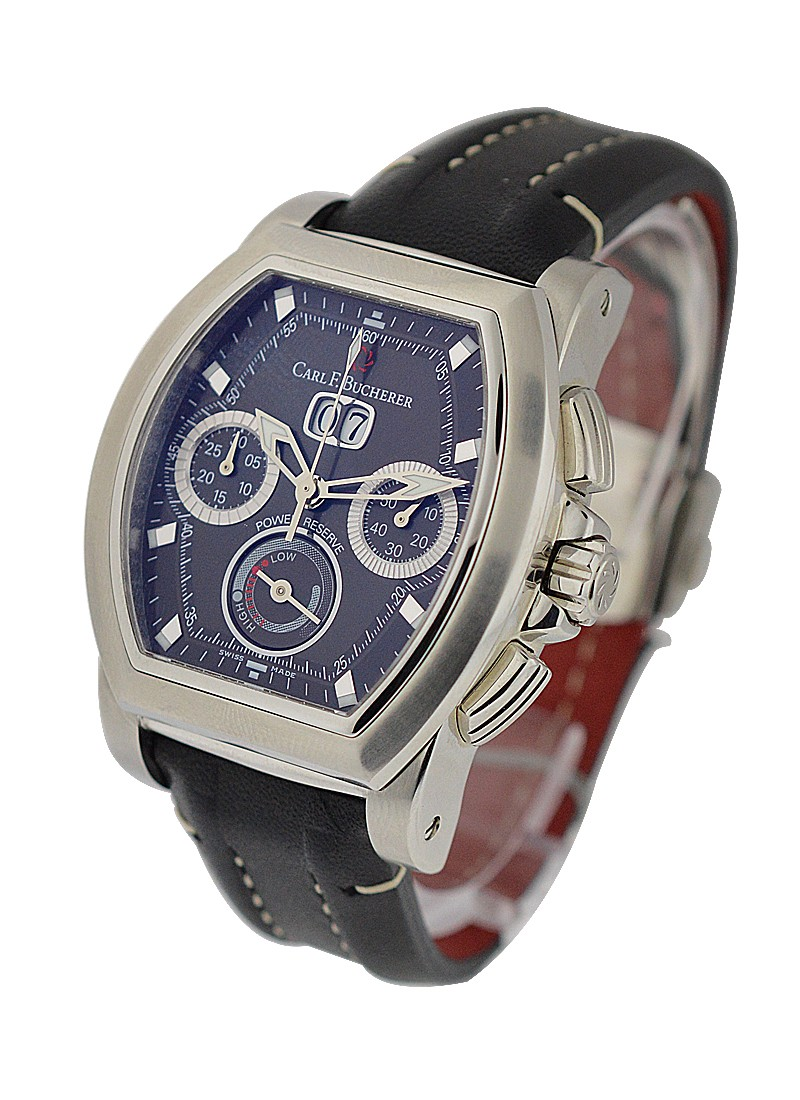 Carl F. Bucherer  Patravi T Graph in Steel