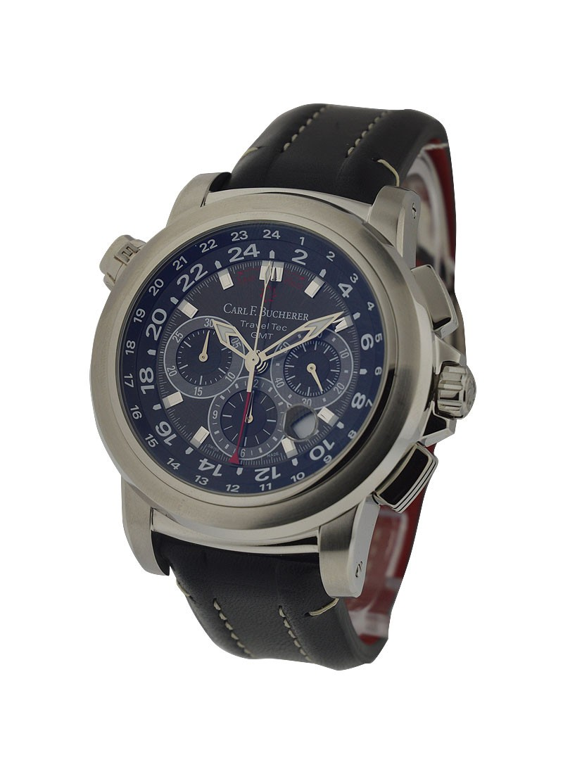 Carl F. Bucherer  Patravi Traveltec Chronograph in Steel