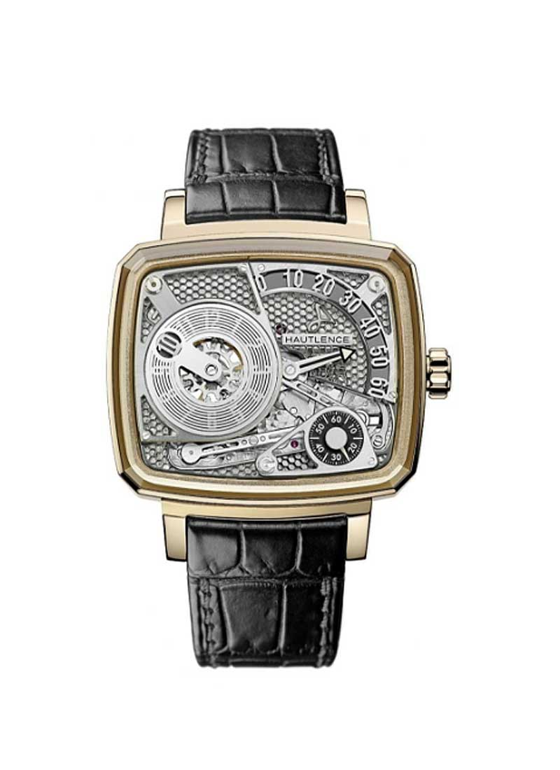 Hautlence HL03  Honey Comb Powe Reserve in Rose Gold