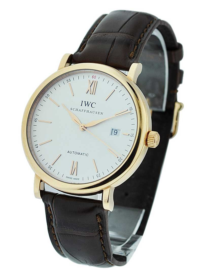 IWC Portofino Automatic in Rose Gold