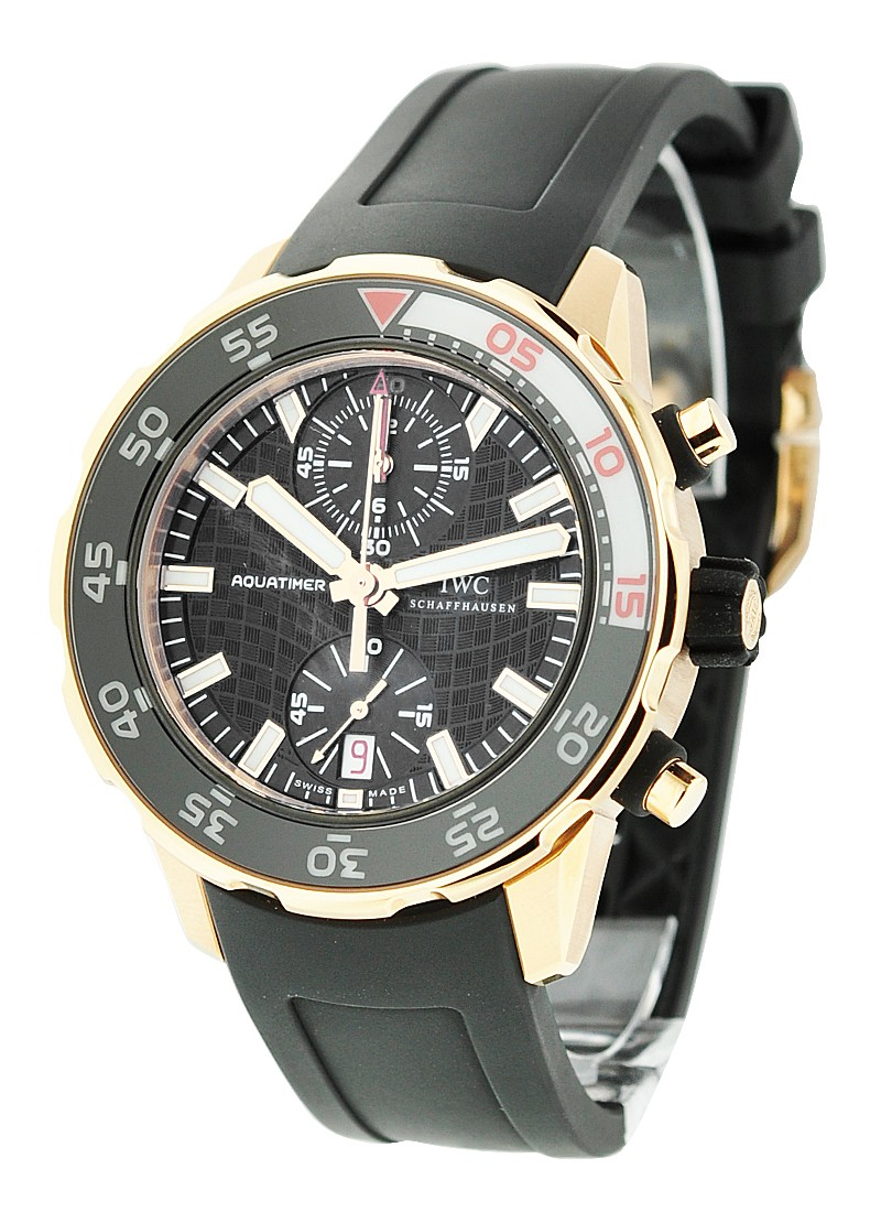 IWC Aquatimer Chronograph 44mm in Rose Gold