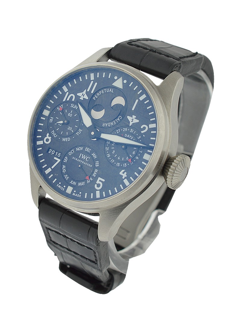 IWC Big Pilot Cellini Perpetual Calendar Limited Edition