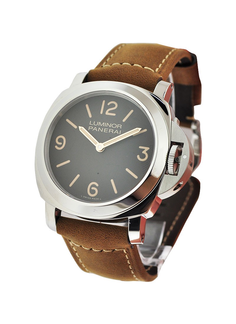 Panerai PAM 390   Luminor Base Special Edition in Steel