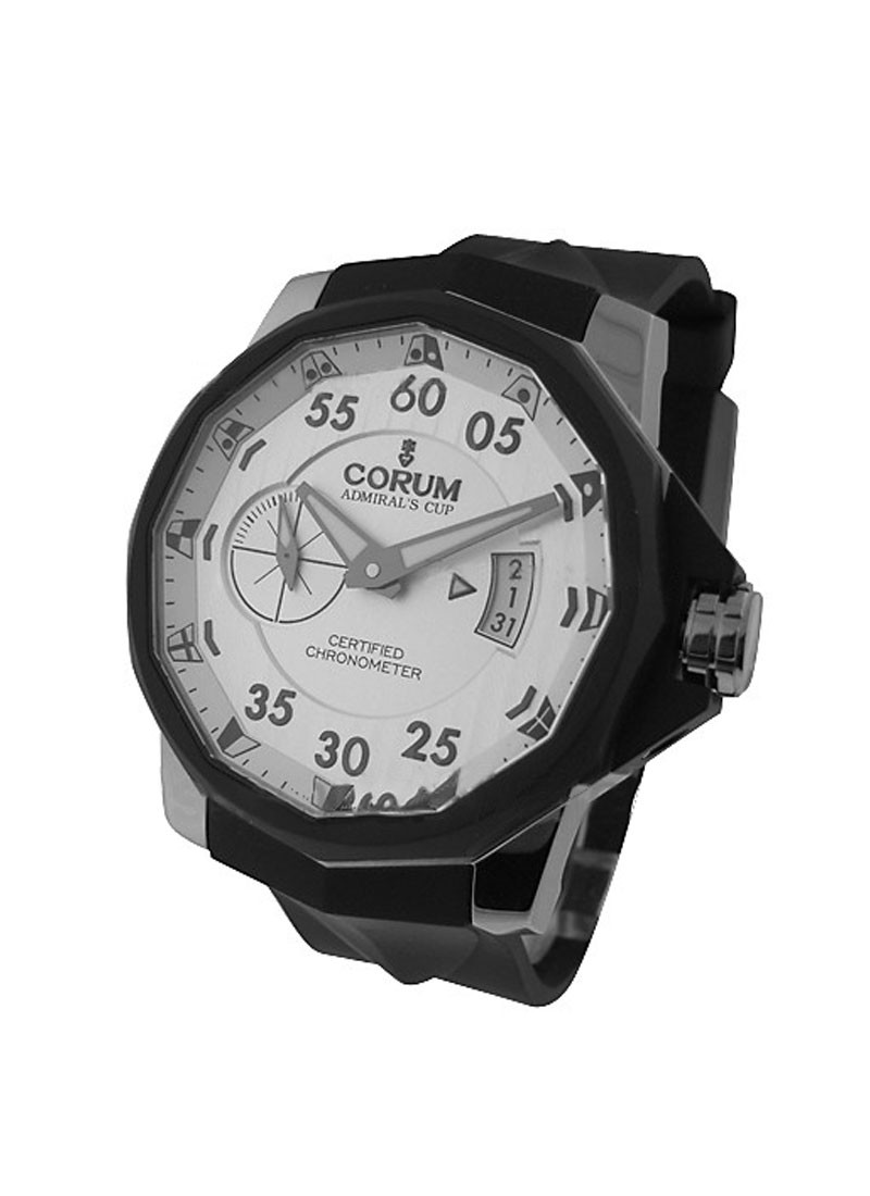 Corum Corum Admiral's Cup 48mm Challenger in Steel