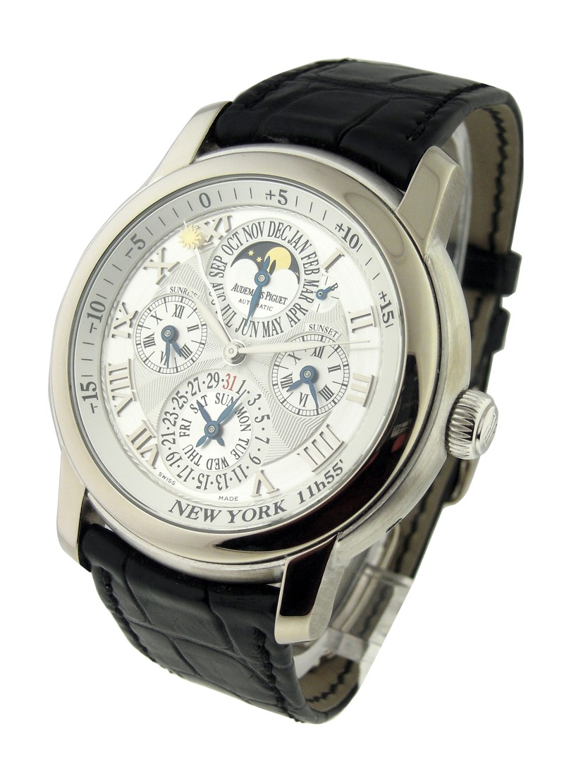 Audemars Piguet Jules Audemars Equation of Time in White Gold