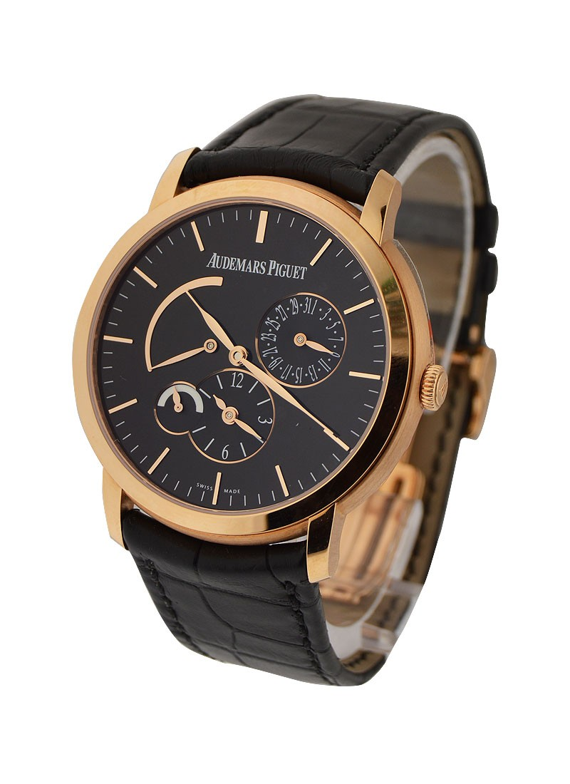 Audemars Piguet Jules Audemars Dual Time in Rose Gold