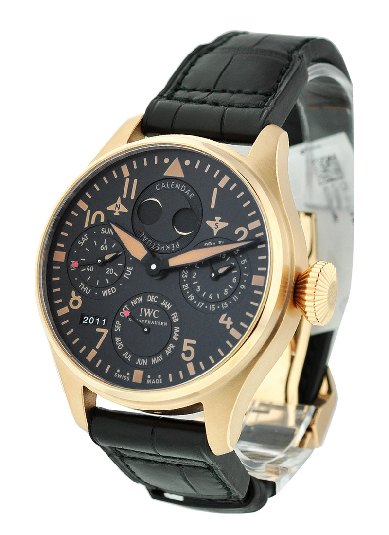 IWC Big Pilot''s Perpetual Bucherer in Rose Gold