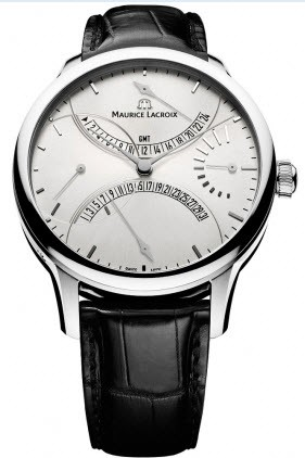 Maurice Lacroix Masterpiece Double Retrograde Automatic in Steel