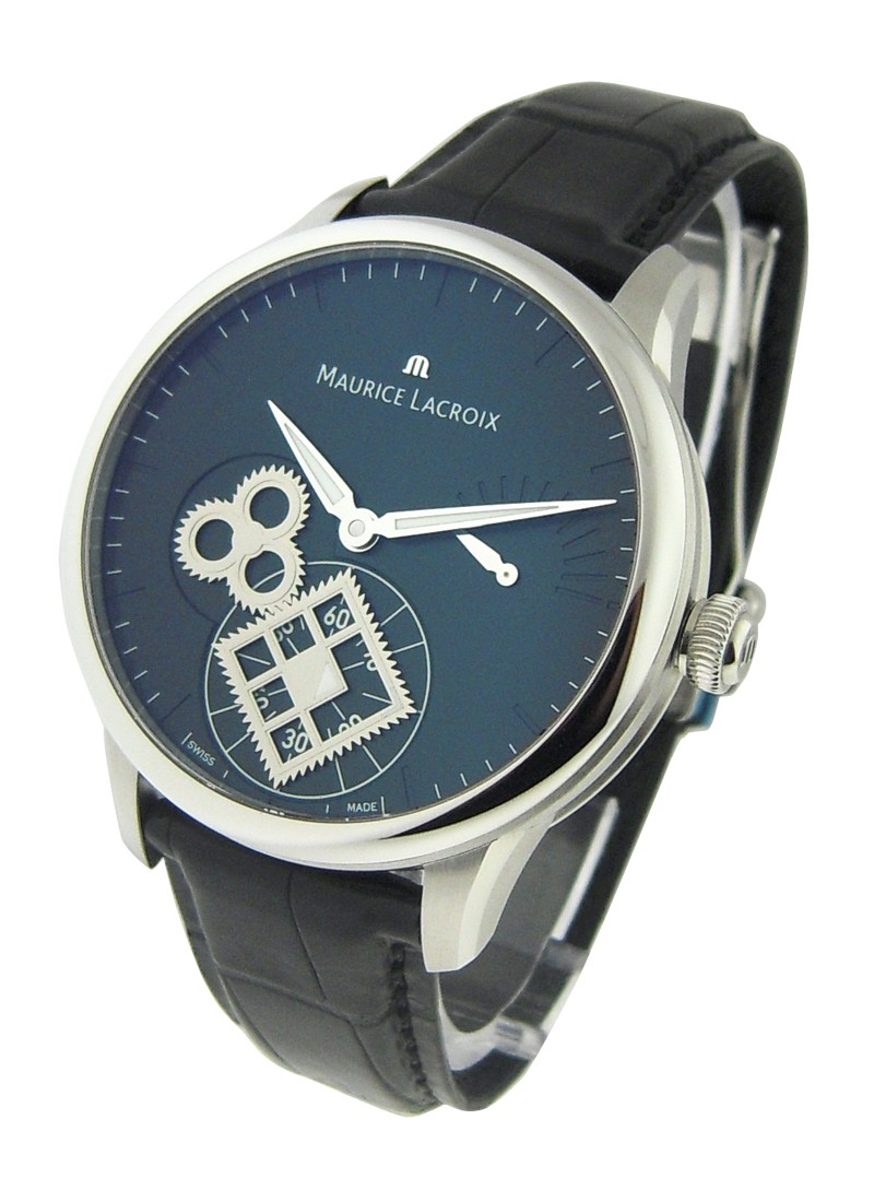 Maurice Lacroix Masterpiece Roue Carree Men''s Manual in Steel