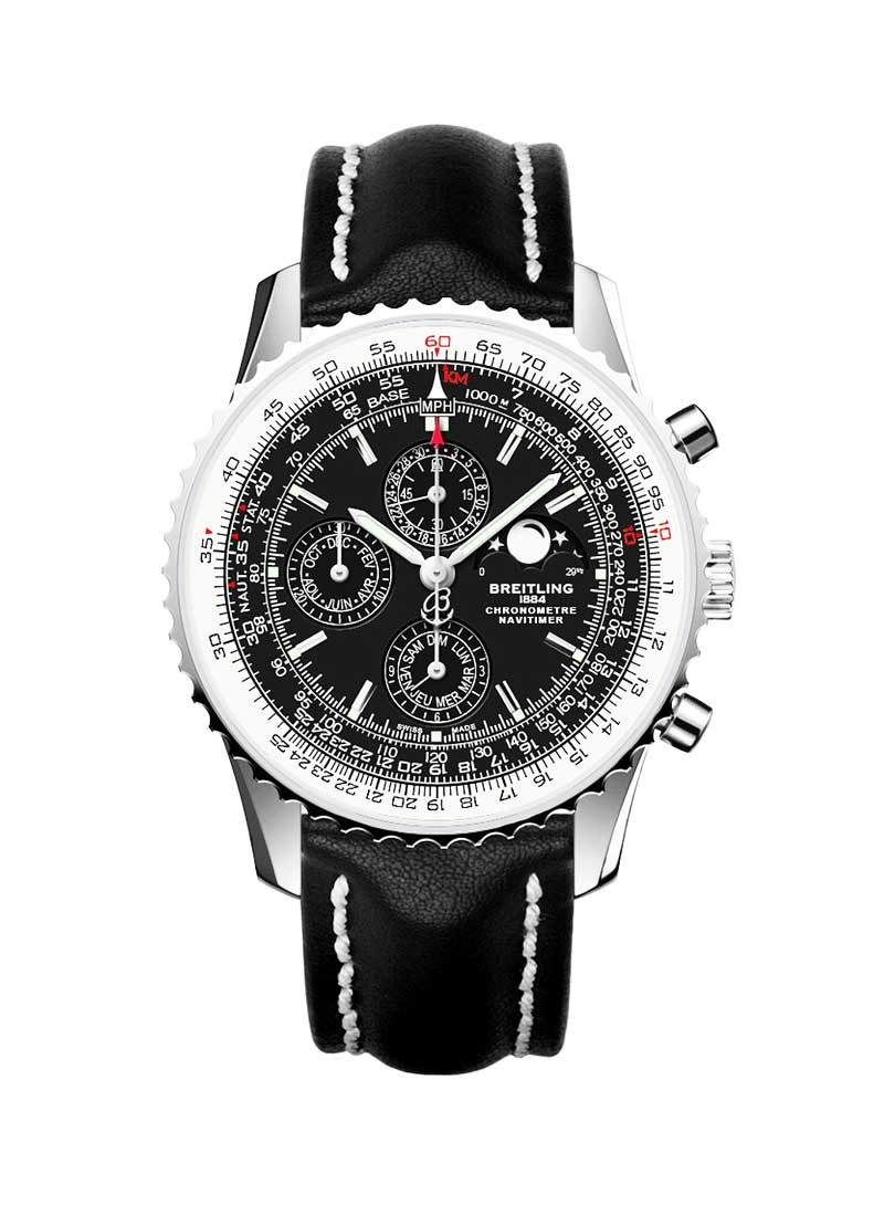 Breitling Navitimer 1461 Moon Phase Chrono 46mm in Steel-Limited Edition