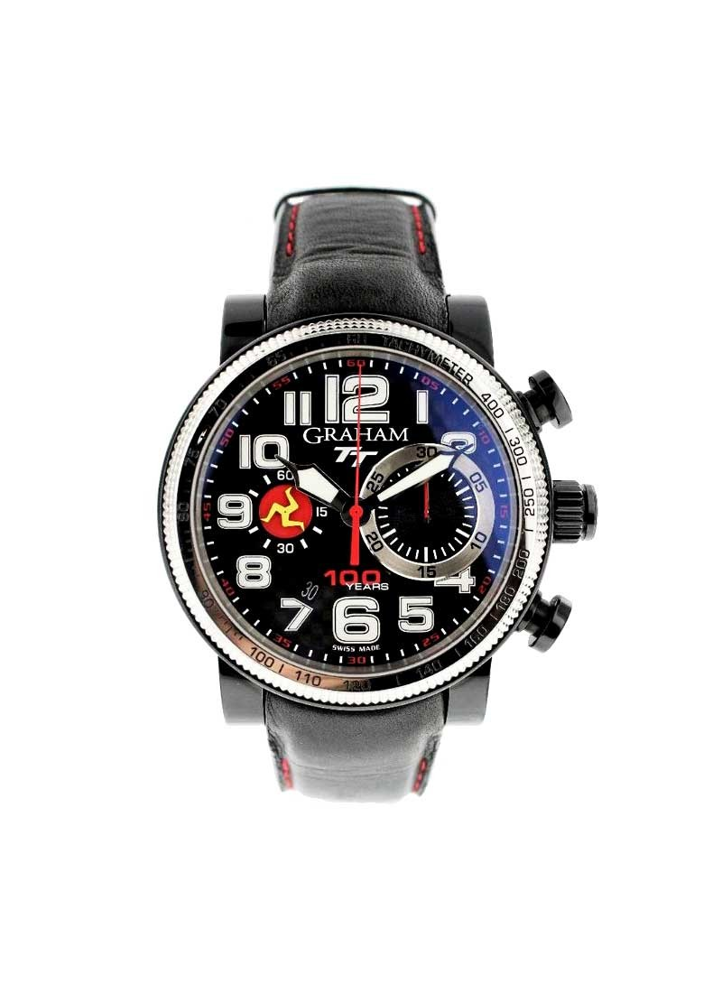 Graham Silverstone Tourist Men's Automatic in Black PVD Steel