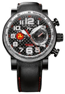 Graham Silverstone Tourist Men''''s Automatic in Black PVD Steel