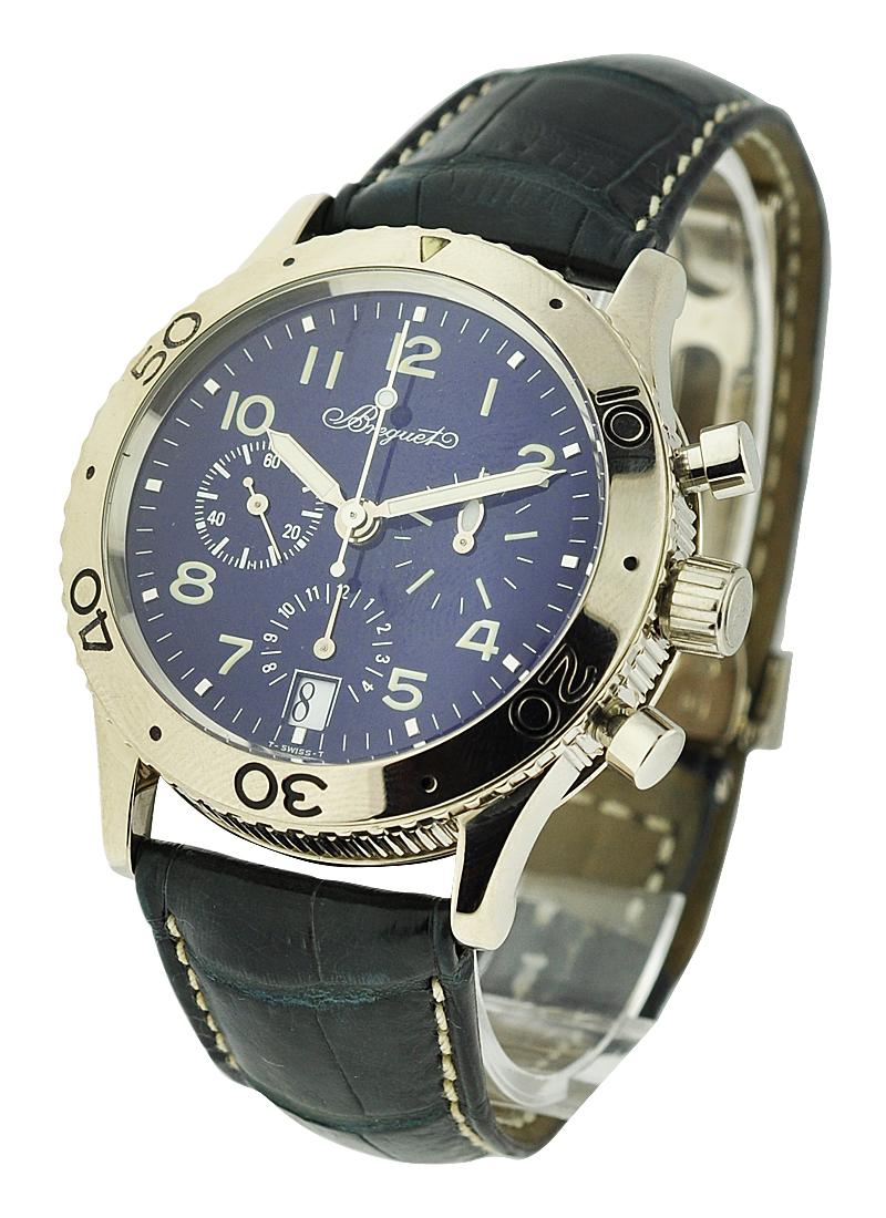 Breguet Type XX Transatlantique in White Gold
