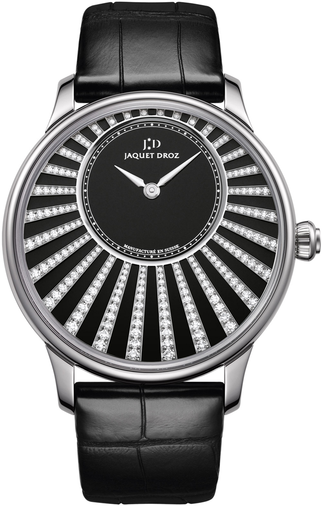 Jaquet Droz Heure Astrale Men's Automatic in White Gold