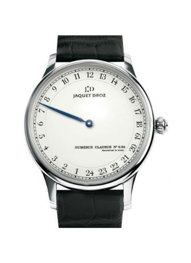 Jaquet Droz Grande Heure  Automatic in White Gold