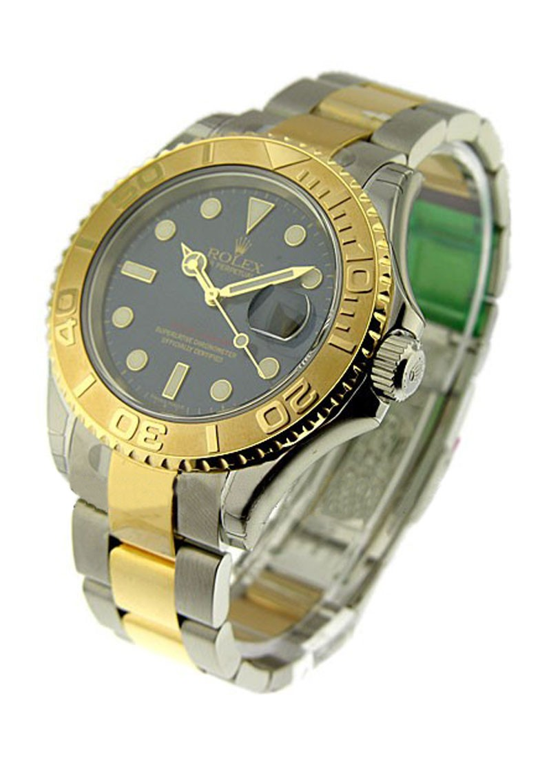Rolex Used Yacht Master 2 Tone Steel and 18kt Yellow Gold