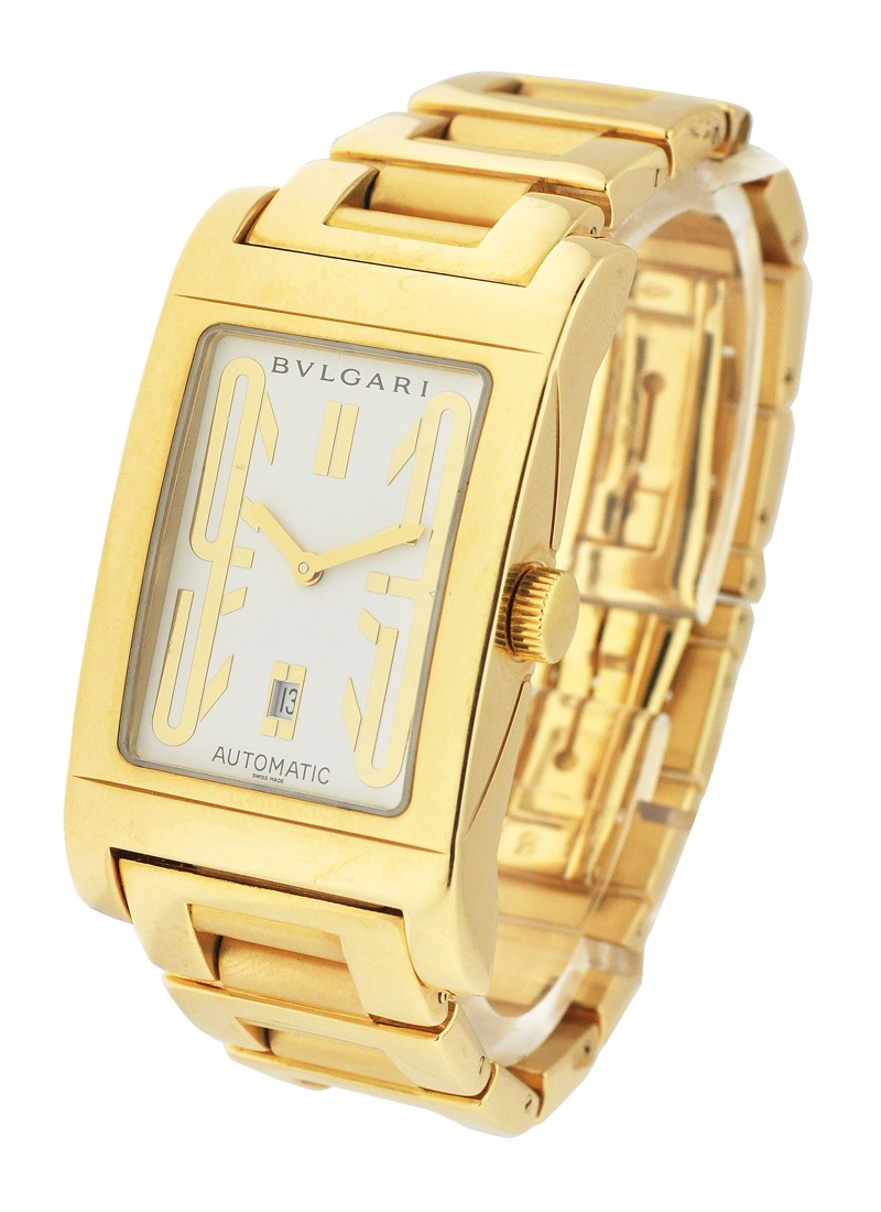 Bvlgari Rettanggolo  Automatic in Yellow Gold 45mm