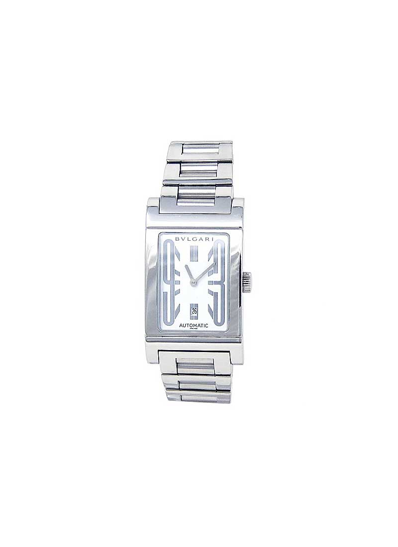 Bvlgari Rettangolo 26mm in Stainless Steel