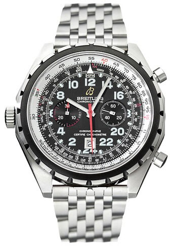 Breitling Chronomatic 24 Hour Men's Automatic in Steel