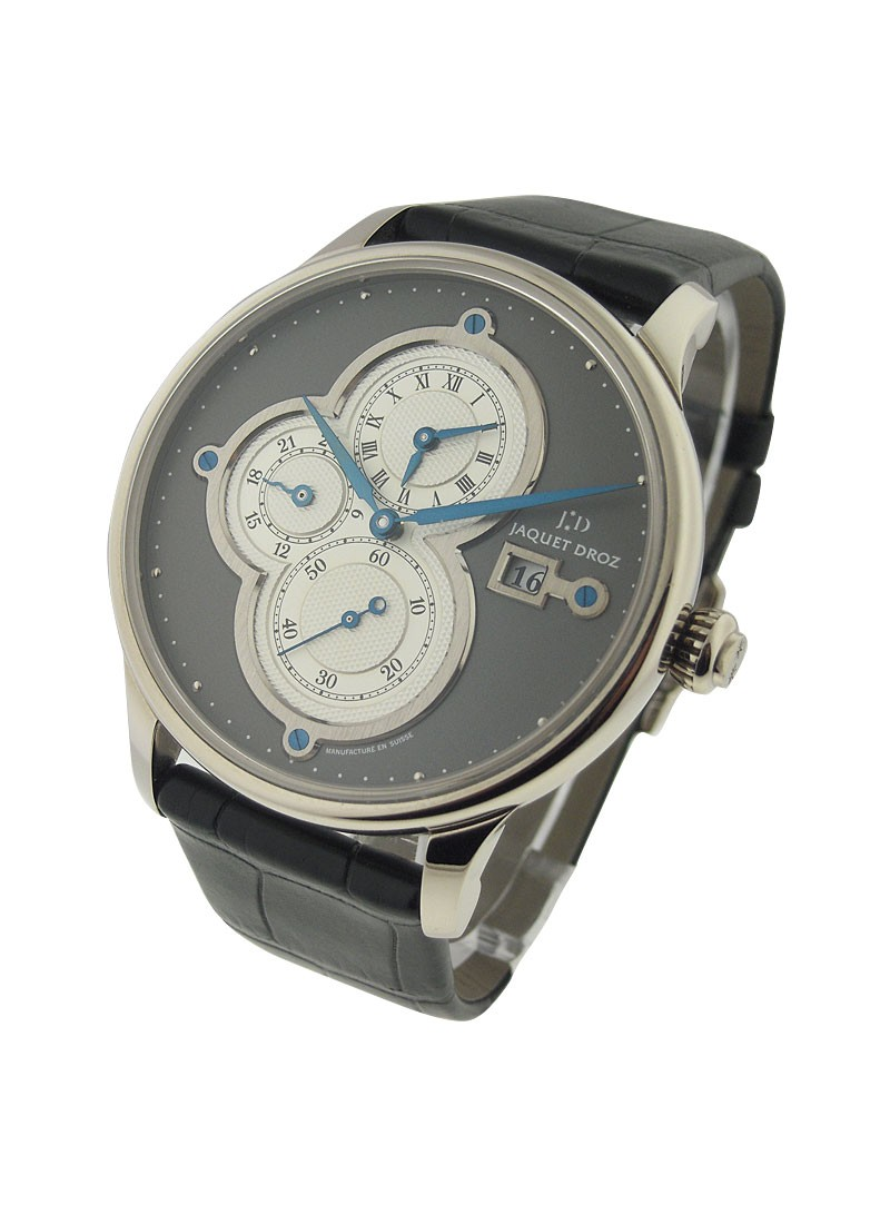 Jaquet Droz Majestic Beijing Time Zone Automatic in White Gold