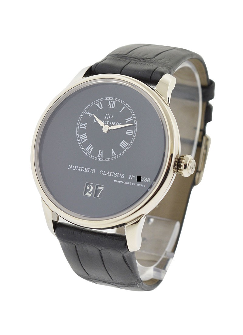 Jaquet Droz Majestic Beijing Time Zone in White Gold