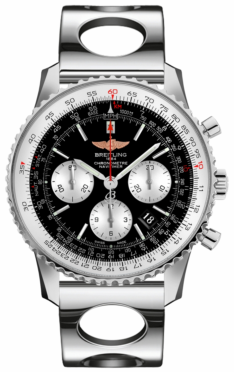 Breitling Navitimer Chronograph 43mm Automatic in Steel